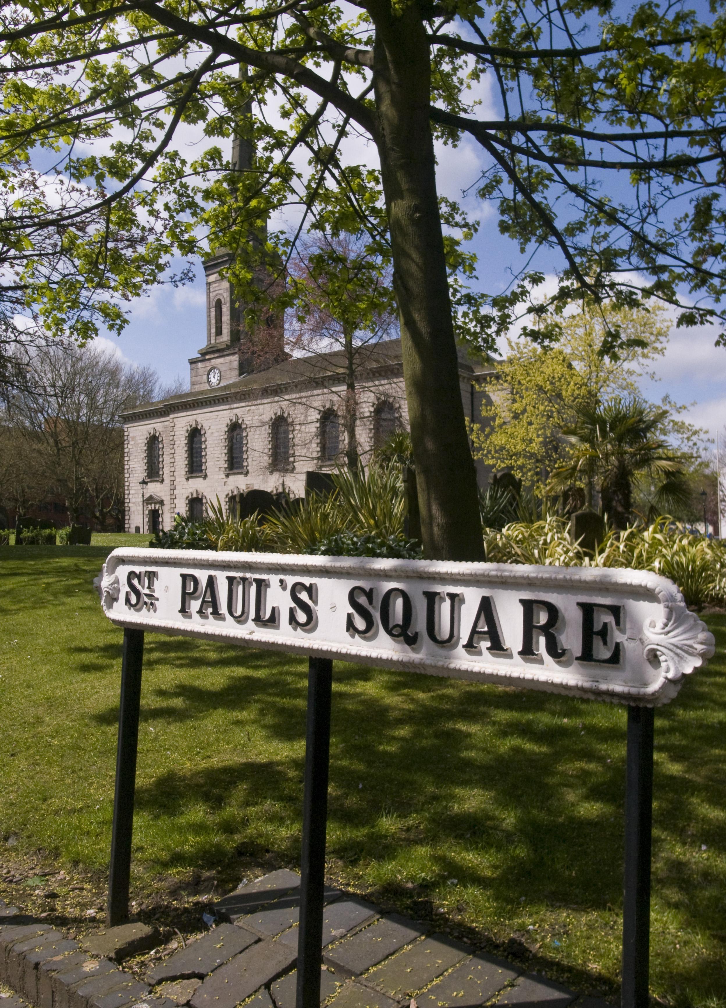 St Pauls Square, Jewellery Quarter, Birmingham