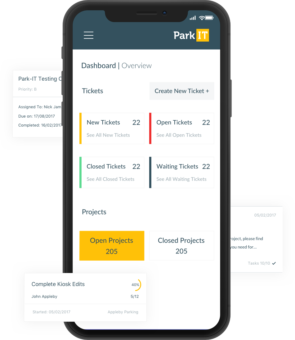 Park-IT - Mobile First Design