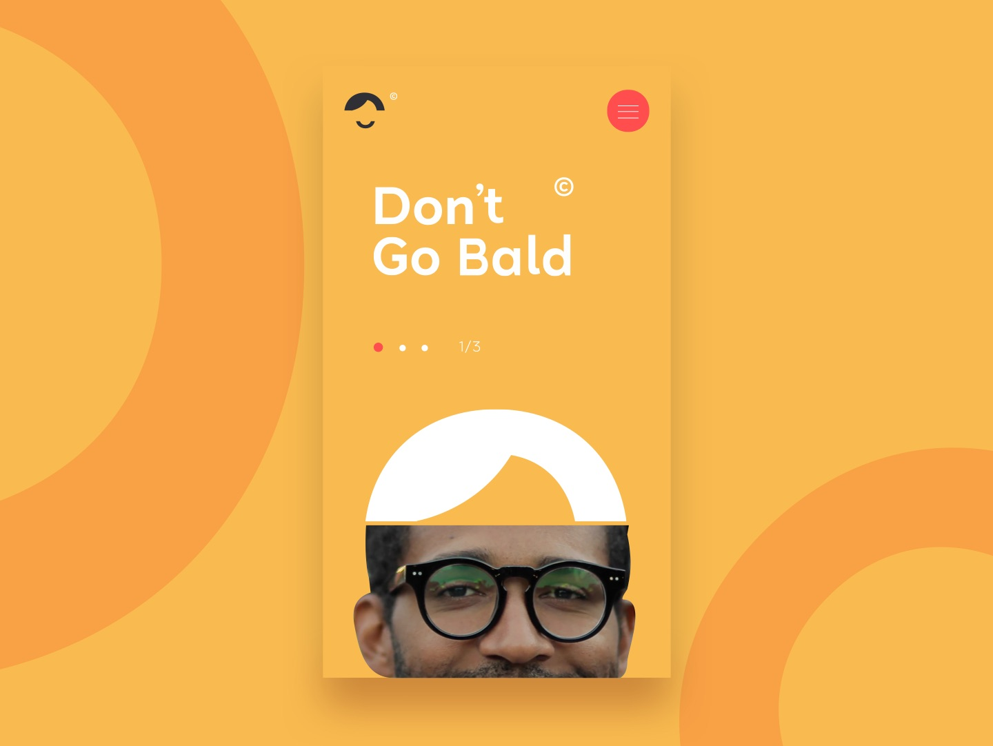 Don't go bald brand creation