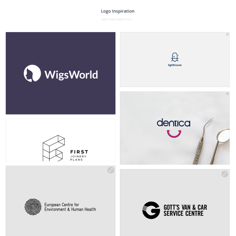 Our logo inspiration when creating a brand identity