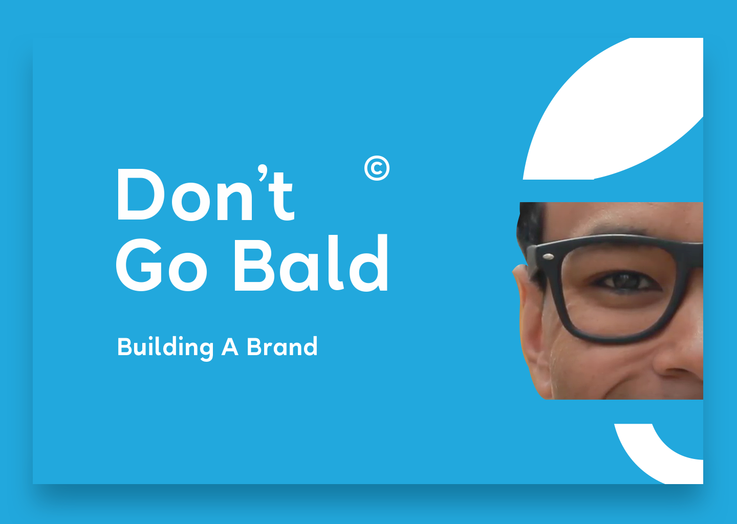 Brand Guidelines & Brand Identity for Don't Go Bald