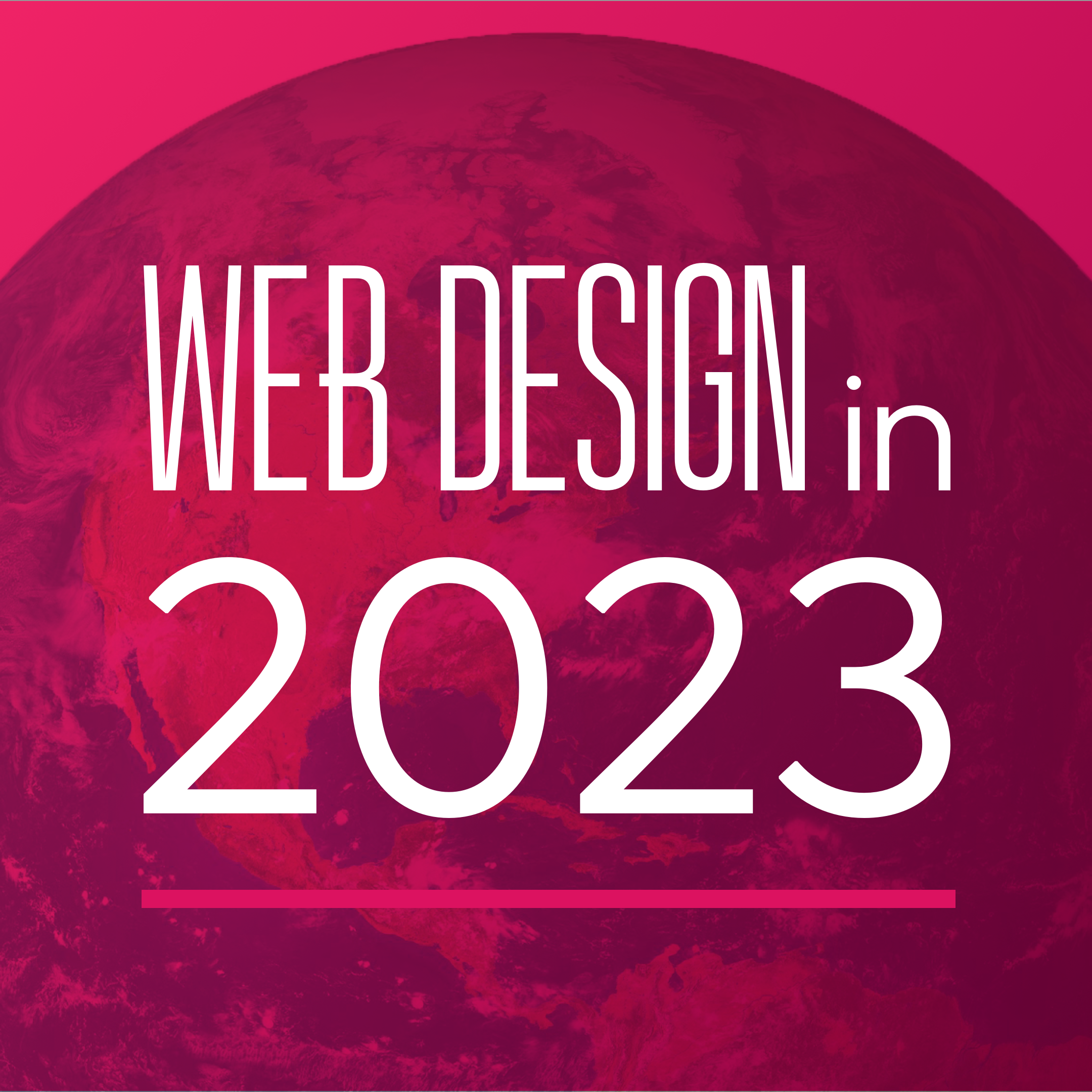 web design in 2023