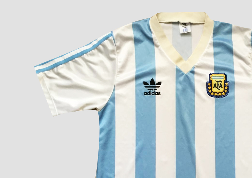 argentina 1993 home jersey
