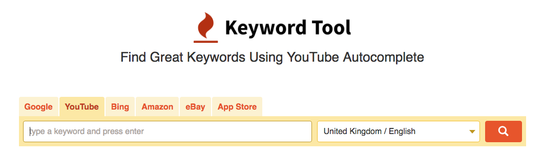 youtube keyword research tooll