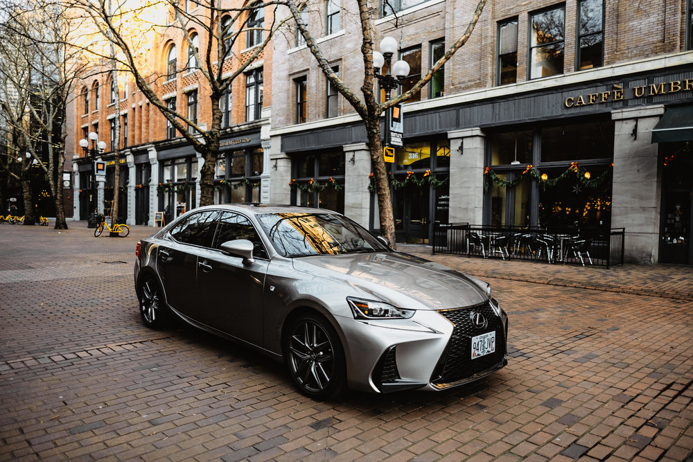 luxury photography for lexus