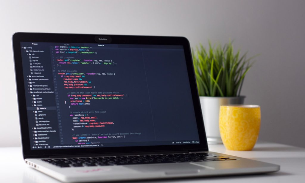 tech required for developing a website