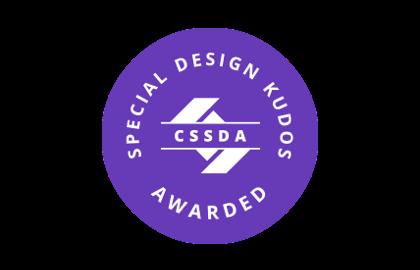 Awards - CSSDA - Special Kudos