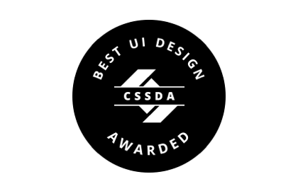 Awards - CSSDA – Best UI