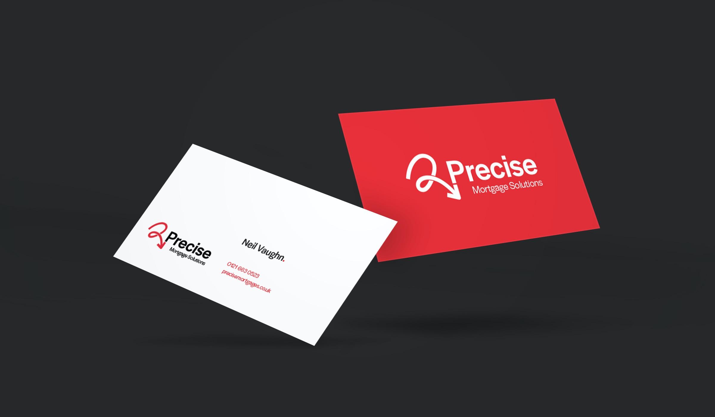 Precise Business Card Design