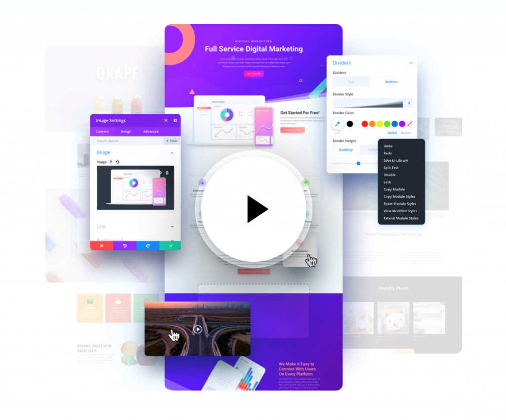 Divi Builder is among the best page builders