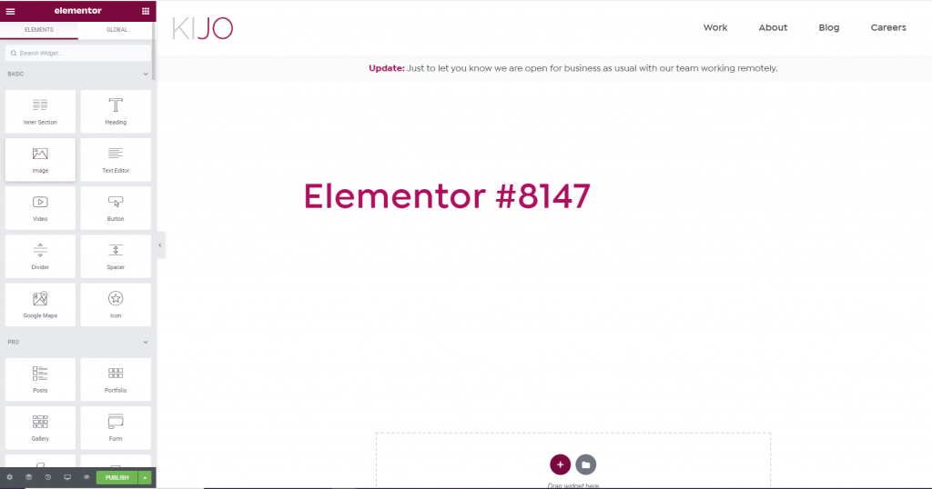 Introduction to Elementor