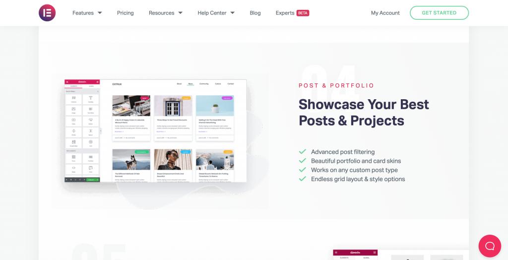 web design in Birmingham using Elementor