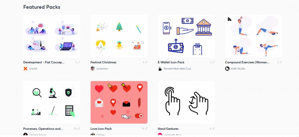 website animations in Lottie Community