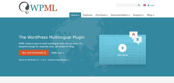 wordpress multilingual wpml plugin