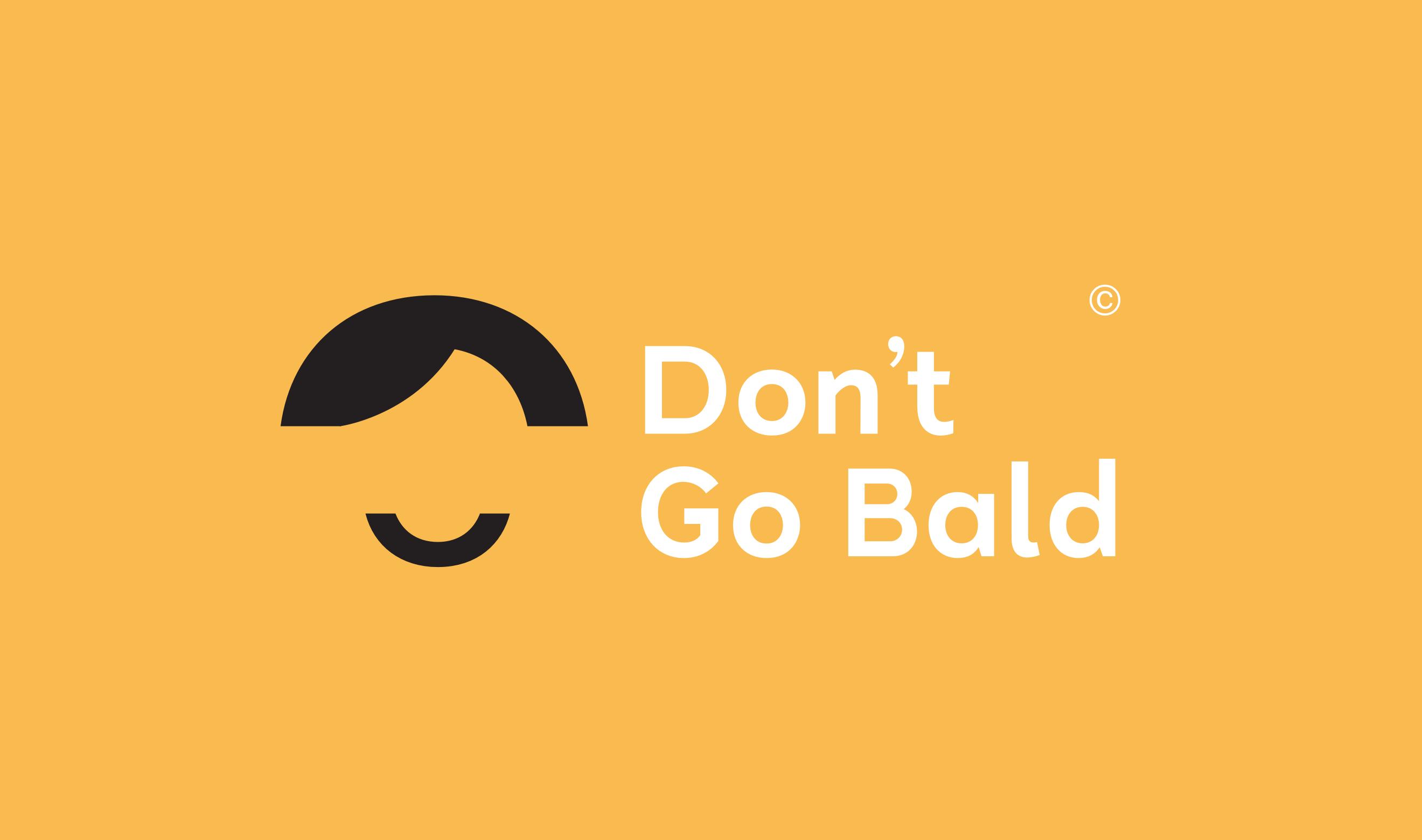 Dont Go Bald Branding