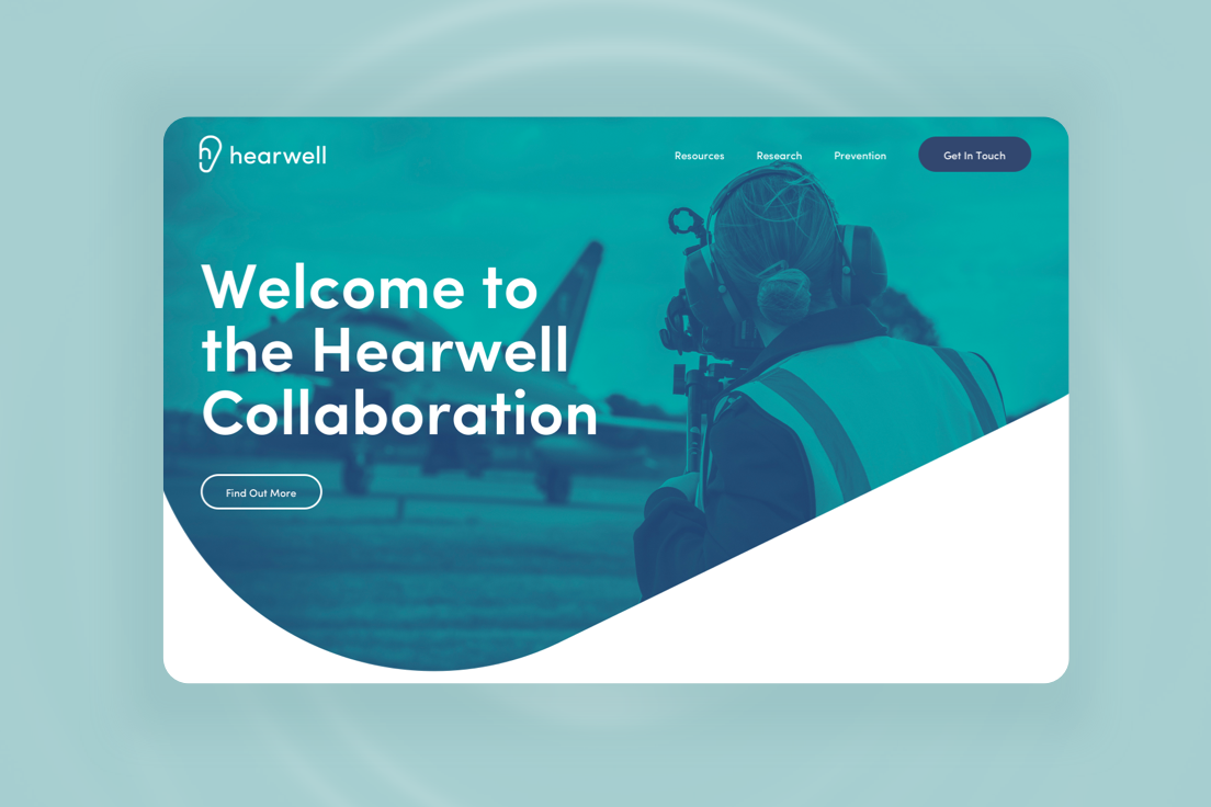 public sector web design for Hearwell