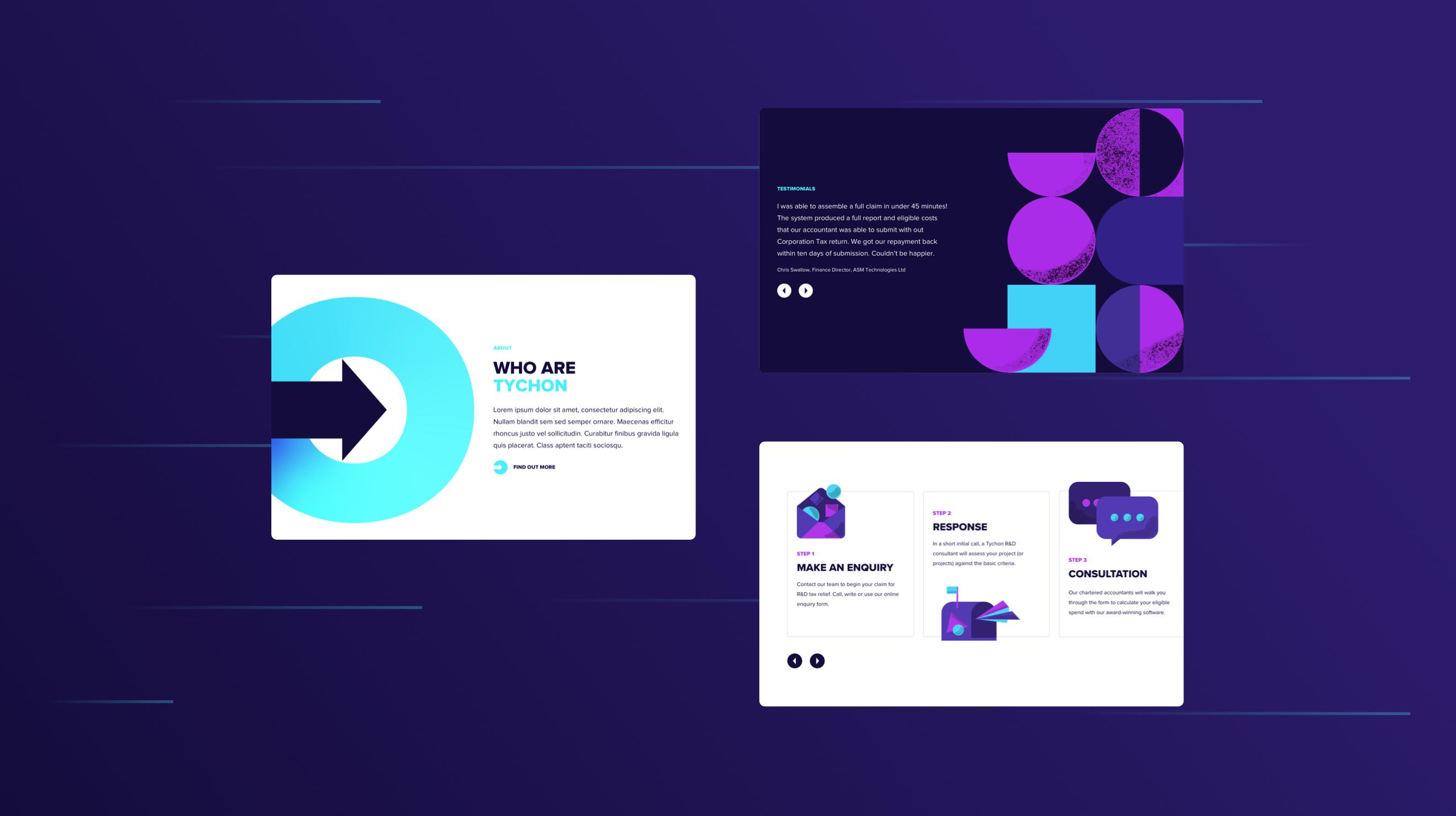 Tychon - Website