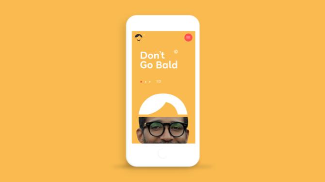 Dont Go Bald - Branding