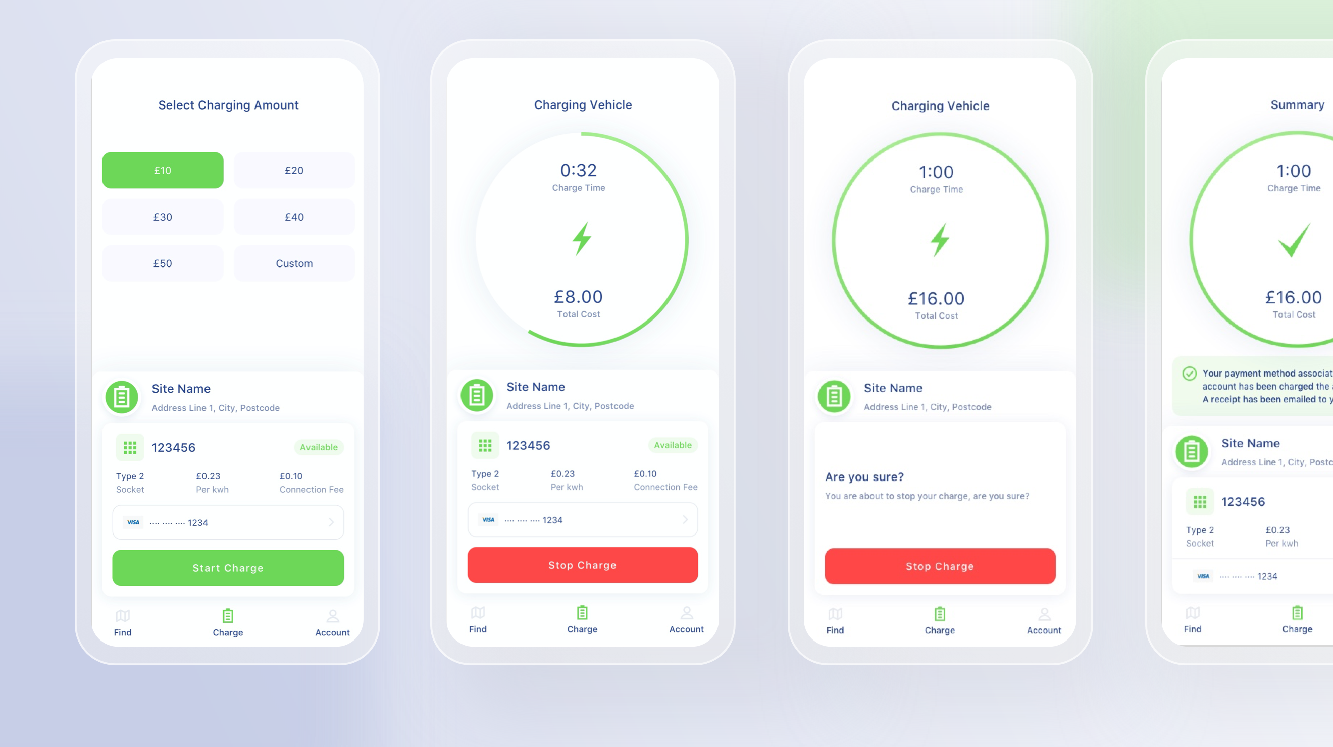 Barlows App Timer