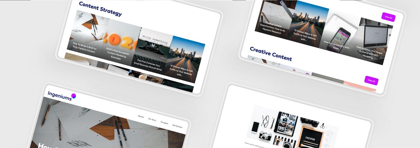 Flix Website Blog Plugin