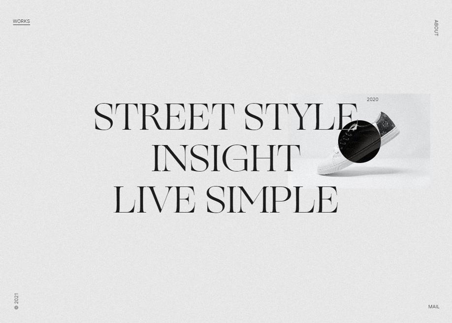 Impactful typography for luxury web design techniques 2021