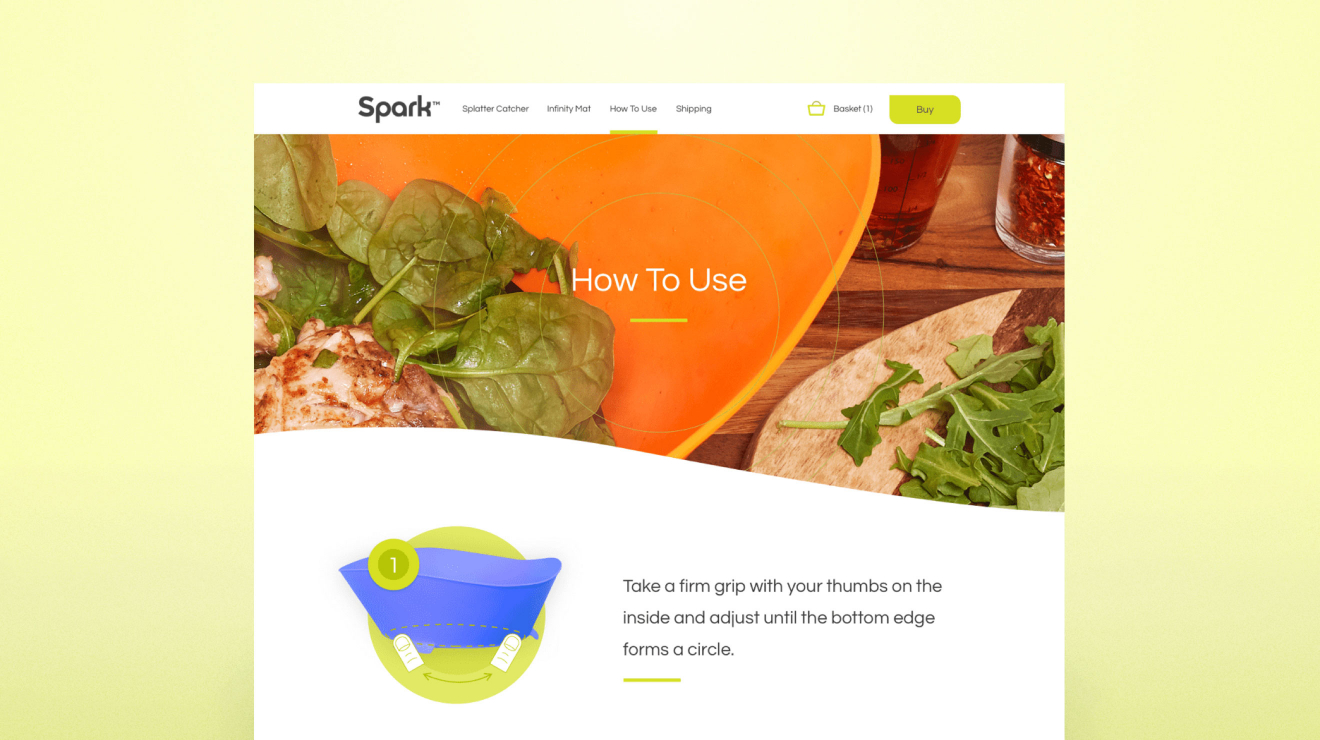 Spark - Web Design